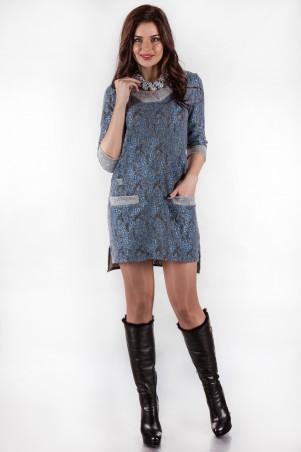 Alpama: Платье SO-13130-ELB - главное фото