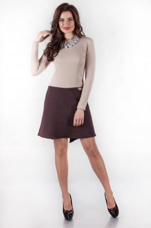 Alpama: Платье SO-14010-BRN - главное фото