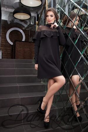 Daminika: Модное платье с воланом Rica 11626 A - главное фото