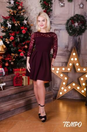 Tempo: Платье Клер марсала - главное фото