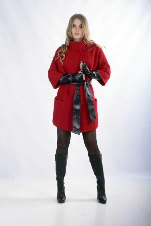 """Me&Me: Пальто """"EMMA"""" красное 201 - главное фото"""