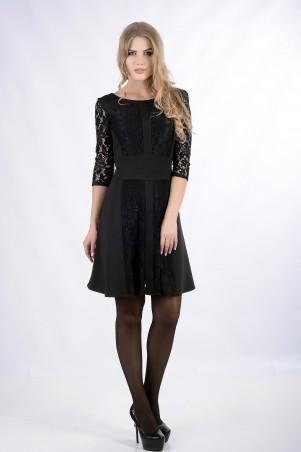 """InRed: Платье   """"ELEANOR""""  черное 7260 - главное фото"""