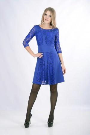 """Me&Me: Платье """"ELEANOR"""" электрик 7259 - главное фото"""