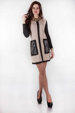 Alpama: Платье SO-13135-BEG - главное фото