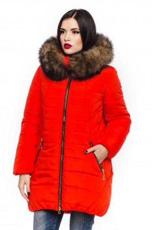 Кариант: Куртка зима Барбара-коралловый - главное фото