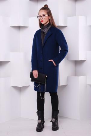 TessDress: Пальто из кашемира Blue 3221 - главное фото