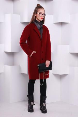 TessDress: Пальто из кашемира Red 3121 - главное фото
