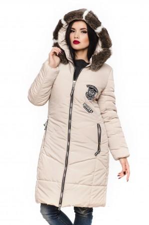 Кариант: Куртка зима Линда -бежевый - главное фото