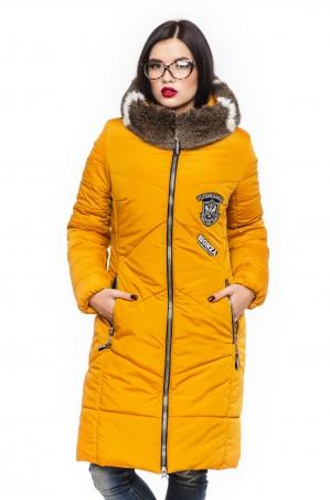 Кариант: Куртка зима Линда-горчичный - главное фото