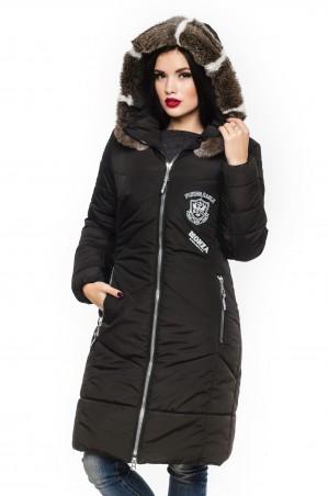 Кариант: Куртка зима Линда-черный - главное фото