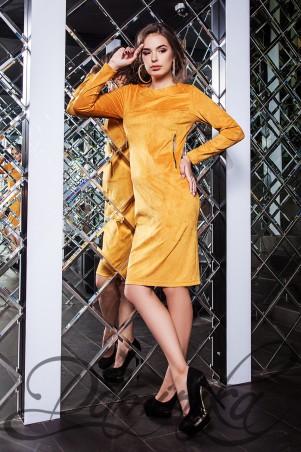 Daminika: Платье из замши Элеонора 11628 E - главное фото