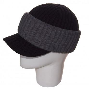 Sofi: Шапка 120050 черный-серый - главное фото
