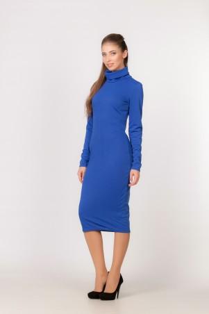Marterina: Платье из трикотажа цвета электрик K03P41TR20 - главное фото