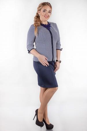 Alpama: Платье SO-14019-BLW - главное фото