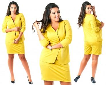 Look At Fashion: Костюм пиджак+юбка-шорты 0681023 - главное фото