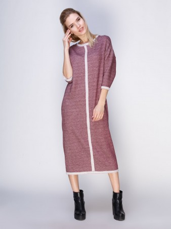 Loca: Платье Платье DW105_бордотифти_Loca - главное фото