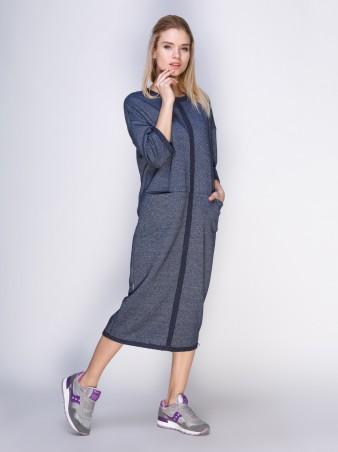 Loca: Платье Платье DW28_синиймурино_Loca - главное фото