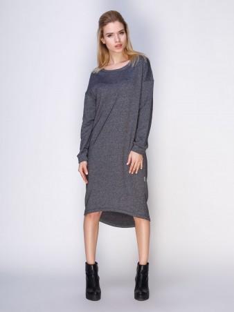 Loca: Платье Платье DW110_серыймурино_Loca - главное фото