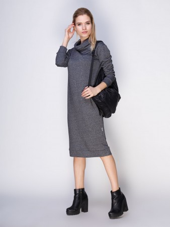 Loca: Платье Платье DW104_серыймурино_Loca - главное фото