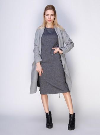 Loca: Платье Платье DW103_серыймурино_Loca - главное фото