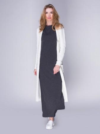 Loca: Платье Платье DW34_меланжтёмный_Loca - главное фото