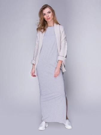 Loca: Платье Платье DW34_меланжсветлый - главное фото