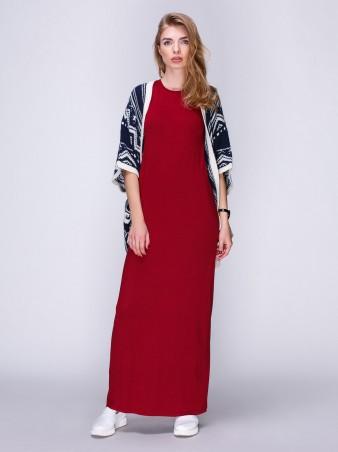 Loca: Платье Платье DW36_бордо_Loca - главное фото
