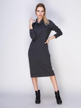 Loca: Платье Платье DW104_тёмныймеланж_Loca - главное фото