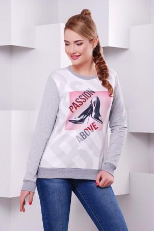 "FashionUp: Свитшот ""Cotton"" KF-1406C - главное фото"