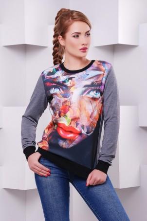 "FashionUp: Свитшот ""Cotton"" KF-1411C - главное фото"