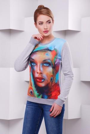 "FashionUp: Свитшот ""Cotton"" KF-1414C - главное фото"