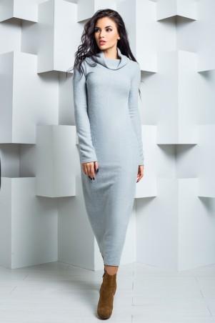 A-Dress: Платье из ангоры с карманами и воротом-хомутом 70212 - главное фото