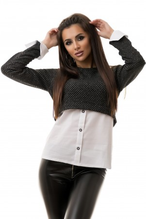 Look At Fashion: Свитер-рубашка 0701093 - главное фото