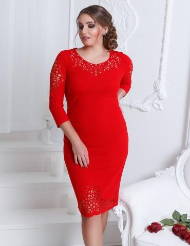 VOKARI: Платье 1571(Plus size) - главное фото