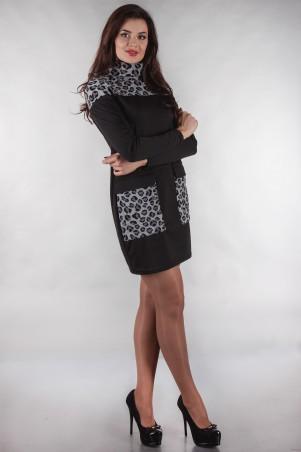 Alpama: Платье ALPAMA- SO-13133-BLK - главное фото