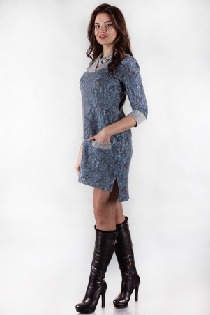 Alpama: Платье ALPAMA-SO-13130-ELB - главное фото