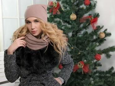 Glamour-VIP: Комплект(шапка+снуд) Ш22 - главное фото