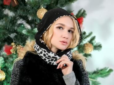 Glamour-VIP: Капюшон-снуд СН24 - главное фото