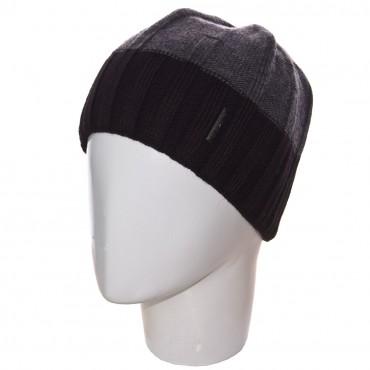 Sofi: Шапка SB14010 черный-темно-серый - главное фото