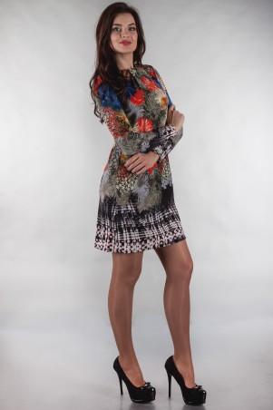 Alpama: Платье ALPAMA-SO-13142-FLW - главное фото
