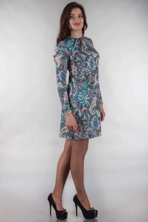 Alpama: Платье SO-13142-TRQ - главное фото