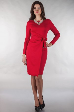 Alpama: Платье ALPAMA- SO-13141-RED - главное фото