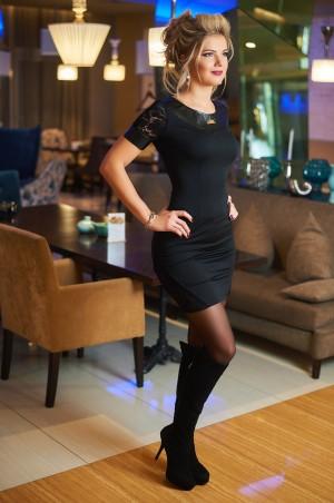 Bisou: Платье с кружевом 7463 - главное фото