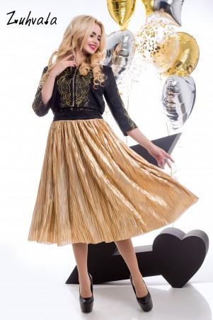 Zuhvala: Комплект(юбка+пиджак+ажурный топ) Техас - главное фото