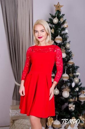 Tempo: Платье Клер красный - главное фото