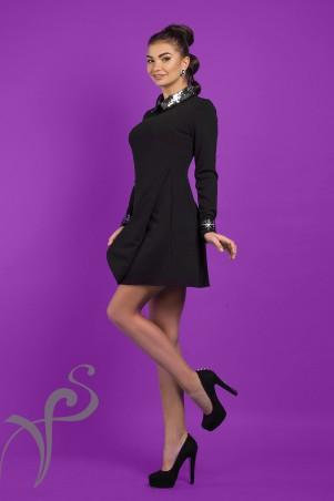 Vision FS: Стильное платье с паеткой Jane 16532 S - главное фото