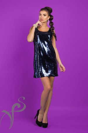 Vision FS: Платье-майка из паетки Disco 16534 C - главное фото