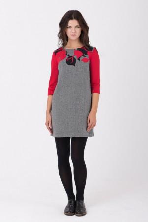 RicaMare: Осеннее твидовое платье RM1626-16DD - главное фото