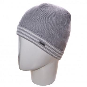 Sofi: Шапка 12051 светло-серый-белый - главное фото