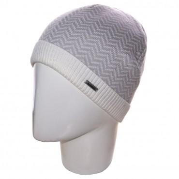 Sofi: Шапка 12018 белый-светло-серый - главное фото